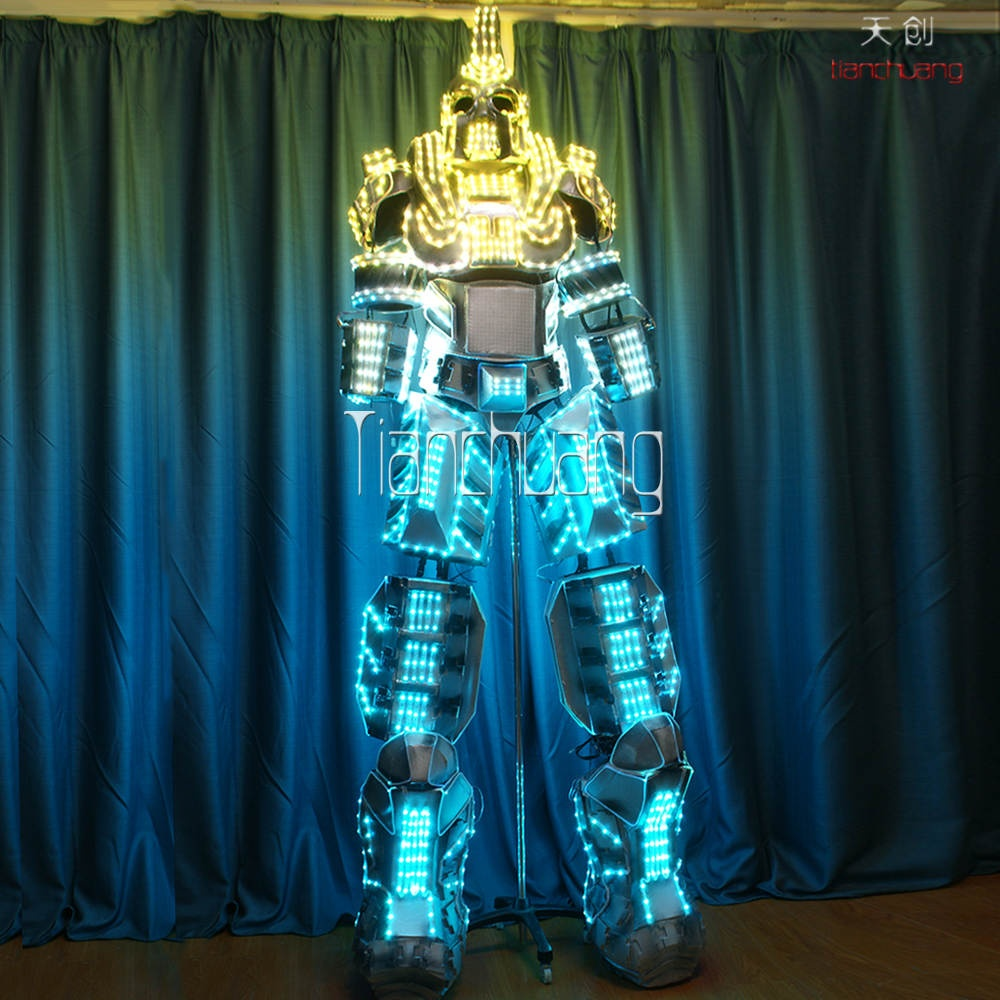 TC-0139 LED ROBOT Costume