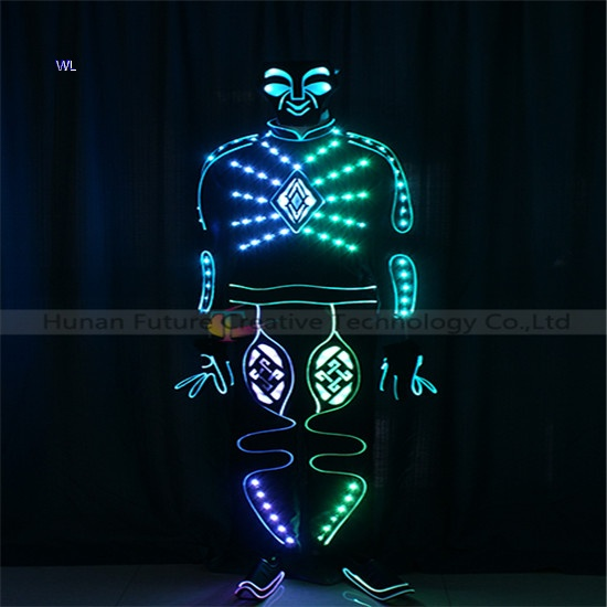 TC-0215 V for mask full color LED fiber optic jumpusit