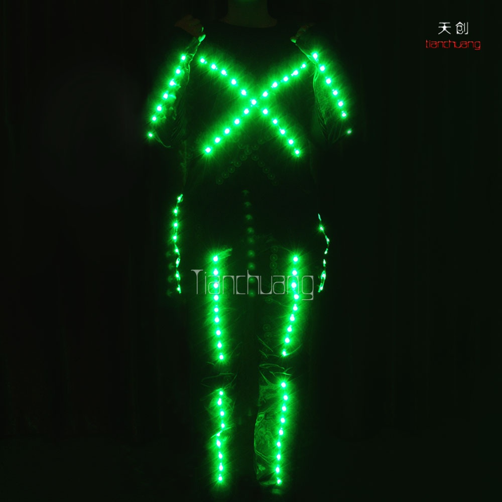 TC-080 full color fiber optic costumes