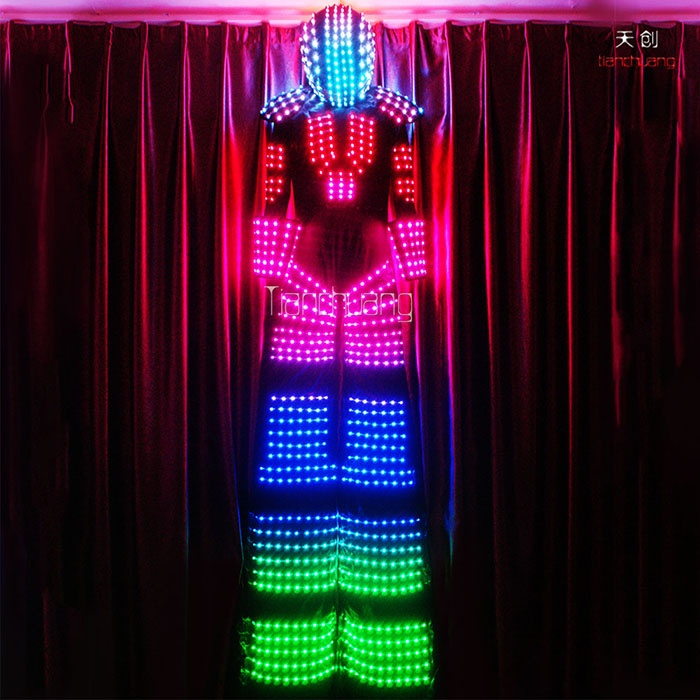 TC-078  Optic fiber light costumes