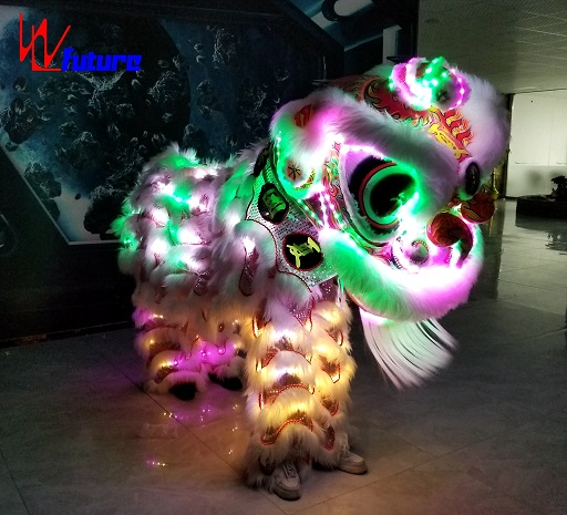 WL-LED Lion Remote Control LED mini Lion dance LED Light Chinese Traditional Festival Dance Lion Kung Fu Traditional Event use