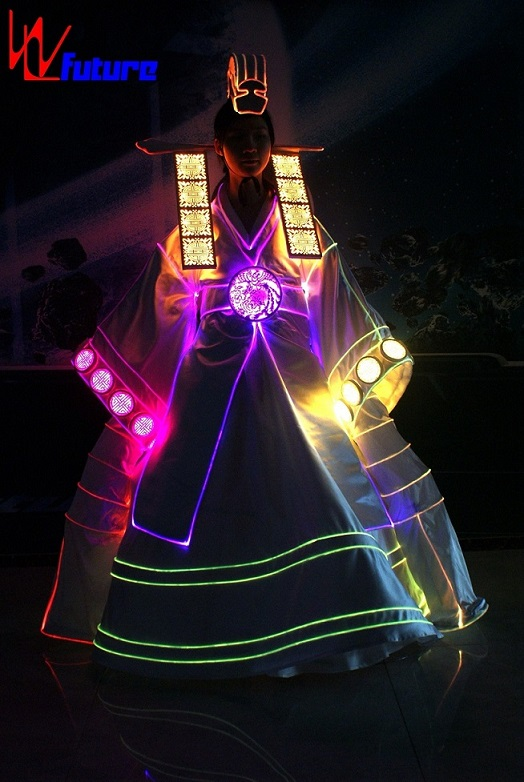 New Product: LED Chinese minority Korean Traditional Girls Dresses WL-0249 performance wear