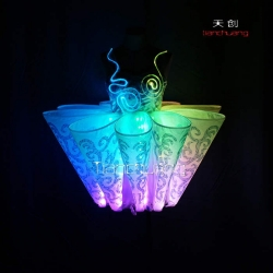 TC-010 full color led dress