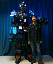 WL-01000 LED ROBOT Costume
