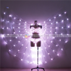 TC-0186 bikini full color led butterfly wing costumes