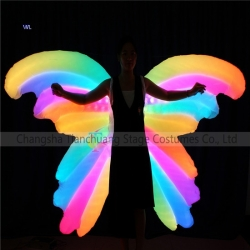 TC-0185 AUTO control color changing Inflatable butterfly wings