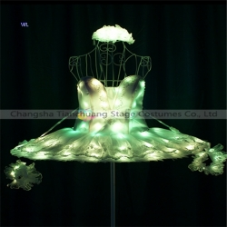 TC-0190 Full color LED ballet dress performance costume
