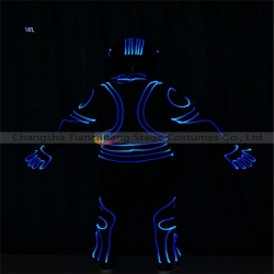 TC-0193 full color LED fiber optic jumpsuit