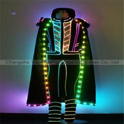 TC-0207 full color LED fiber optic jumpsuit