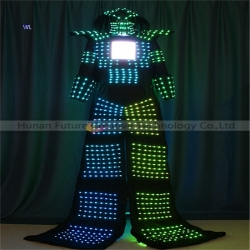 TC-0211 Full color LED performance costume