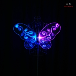 TC-0171-F Led butterfly wings costumes