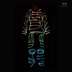 TC-088 Fiber optic LED Costumes
