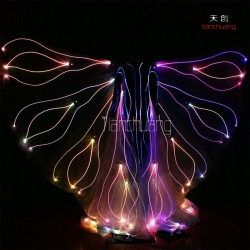 TC-076 fiber optic butterfly costumes