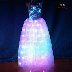 TC-049 Full color LED long dress