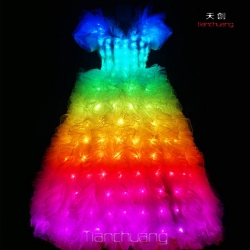 TC-022 LED Wedding Dress
